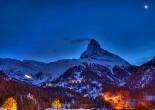 Luxury ski resort europe