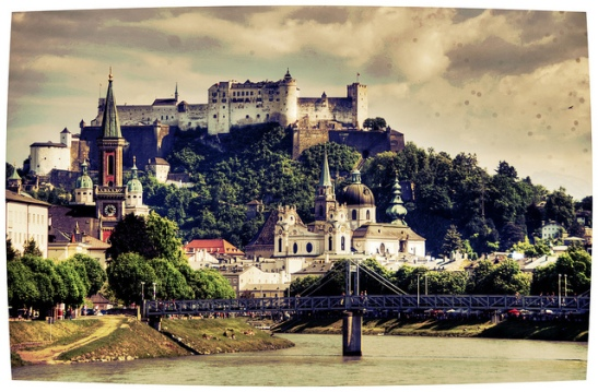 The-Old-Town-of-Salzburg-Austria